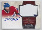 2010-11 DOMINION P.K. SUBBAN ROOKIE AUTO AUTOGRAPH PATCH # 39 99