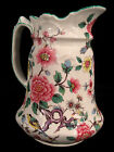 Antique 7T Marked Old Foley CHINESE ROSE Chintz Type Jug by James Kent Ltd.-Mint