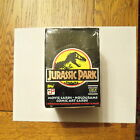 1992 TOPPS GOLD JURASSIC PARK MOVIE CARD BOX - JP GOLD 36 PACKS RARE