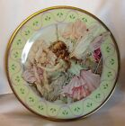 Metal Repleca Plate The Sweet Pea Fairies, Flower Fairies, Cicely Mary Barker A1