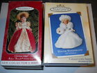 HALLMARK KEEPSAKE GLORIOUS ANGEL 1998 & WINTER WONDERLAND 2002 ORNAMENTS