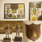 Named Vietnam Special Forces Green Beret/ 101st Airborne Paratroop Grouping/ Lot