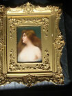 Antique   KPM   Porcelain Plaque Wagner