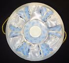 Yedi Blue Feathers Leaves Classic Coffee Cups and Saucer Set of 6 in Storage Box