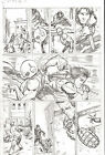 G.I. Joe #2 pg 9 QUICK KICK Slashing ORIGINAL Pencil Art Steve Kurth BUY 4 GET 1
