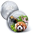 2014 1 DOLLAR REPUBLIC OF MARSHALL ISLANDS PANDA (RED PANDA)