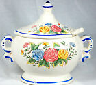 Made In Japan Mini Floral Soup Tureen With Ladle