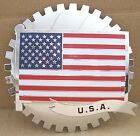 USA AMERICAN FLAG GRILLE BADGE CHEVY FORD DODGE PICKUP EMBLEM