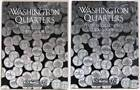 Harris Washington State Quarters Albums Volumes 1 & 2 1999 thru 2008 Gently Used