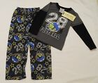 NWT Boy's Size 4 CARTER'S 2-Piece Winter Pajama Set - Football  Pj's