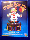 1984 vintage Craft Master MUSIC BOX DANCER  CLOWN Music Box Kit 50990 Complete!,
