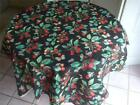 Joan Kessler Concord Fashion Vintage Remnant Fabric Cherries Butterfly 36