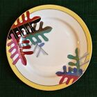 Occupied Japan Vintage  Decorative china cookie plate with gold detail