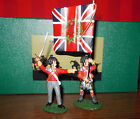 Frontline CW4 British 93rd Highlanders Regimental with flag/ NCO- New in Box