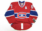 SUBBAN MONTREAL CANADIENS AUTHENTIC HOME NHL REEBOK EDGE 2.0 7287 HOCKEY JERSEY