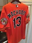 Manny Machado Game Used Jersey - Baltimore Orioles - Worn 2014 - MLB Authentic