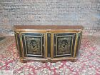 Drexel Heritage Hampshire 4 Door Chinoiserie Paint Decorated Buffet