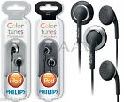 Philips Earbuds Replacement Headphones for Portable CD DVD MP3 Player Phones