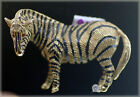 18k Gold Enamel, Ruby Eyes Zebra Pin with Diamond - by Buccellati