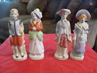 Porcelain Figures set of 4 from Occupied Japan