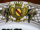 c1882 Luneville France Armorial Plate 10