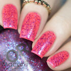 ★Orly★ Explosion of Fun - Sparkle Pink Holo Holographic Glitter Nail Polish