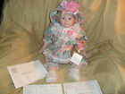 World Gallery Dolls Collectible Porcelain Doll 21