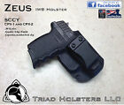 SCCY CPX 2 Kydex Holster Right or Left 3 Colors