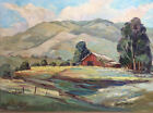 California Plein Air Landscape Mountain Painting Helen Luton Hafer Listed Art