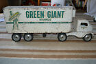 Vintage Original 1953 Tonka GREEN GIANT Semi Truck and Trailer