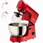 Red Mix 5L 1000W Electric Professional Mixer/Whipper/Beater/Dough Hooks/Whisk