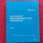 Barbri Multistate Performance Test Workbook MPT Bar Exam Summer 2014