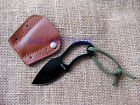 New MINI Cute Full Steel Finger Hole Camping Fishing Claw Pocket Knife gift fN13