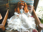 Angelique Her Little Highness  Sitting Porcelain Doll by Donna RuBert & Rustie