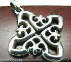 GORGEOUS James Avery Rare Openwork Cross Pendant Sterling Silver 11.96 Grams