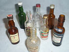 Vintage Whiskey Bottles Kentucky Tavern Guckenheimer Seagrams collectible stamps
