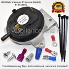 Whitfield Pellet Stove Air Pressure Switch Vacuum sensor 16050001 + Instructions