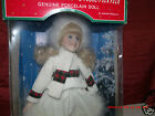 Porcelain Doll AdorableMemories ChristmasThe Holiday Collection WinterWonderland