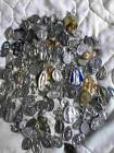 HUGE Lot 164 Vintage Mostly Italian Religious Medals Some Antique