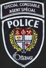 Canada Special Constable  agent special police Ottawa patch