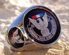 US SIZE 8 EAGLE SCOUT BOY SCOUTS AMERICA RING STEEL SILVER PIN BADGE PATCH N58