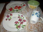 Home Studio Garden Bouquet DINNERWARE 4 PIECE PLACE SETTING-HAND PAINTED-NEW