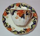 Antique Porcelain Cup and Saucer Royal Vitreous  John Maddock&Sons, England #3
