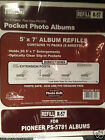 12-Pack Pioneer R-57 Refill Pages for PS-5781 Photo Album -120 Pages/60 Sheets