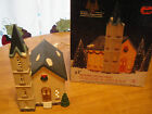 1992  Dickens Collectibles ~ CHURCH ~ Lighted Christmas Holiday House Village EC