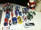 Huge Transformers lot Wheeljack Tankor  CHUGS Classics Bumblebee Soundwave Orion