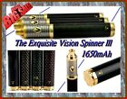 Vision Spinner 3 lll Carbon Fiber 1650mAh Variable Voltage Battery 510 +Charger