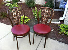 Thonet-style/ Bistro  Wood Vintage Bentwood Chairs Post-1950 Romanian