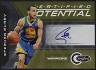Stephen Curry 10-11 Panini Certified #3 Potential Gold AUTO GS Warriors 19 25