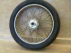 Honda CB-350F Four CB350-F Used Original Front Wheel Assembly 1974 #M2 #HW68